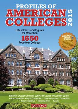 Profiles of American Colleges 2015