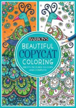 Beautiful Copycat Coloring Book Pretty Pictures To Copy And Complete By Cindy Wilde