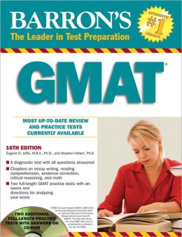 Barron's GMAT with CD-ROM