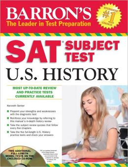 Barron's SAT Subject Test in U.S. History with CD-ROM