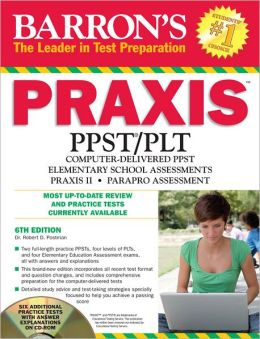 Barron's PRAXIS with CD-ROM, 6th Edition