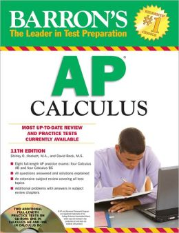 Barron's AP Calculus with CD-ROM, 11th Edition