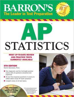 Barron's AP Statistics with CD-ROM, 6th Edition