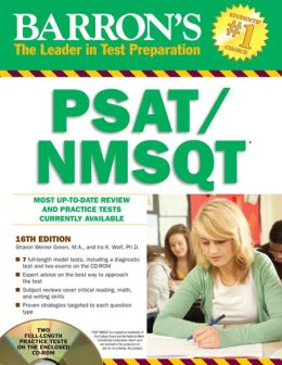 Barron's PSAT/NMSQT with CD-ROM, 16th Edition