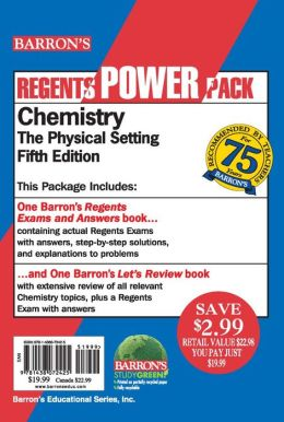 Chemistry--The Physical Setting Power Pack