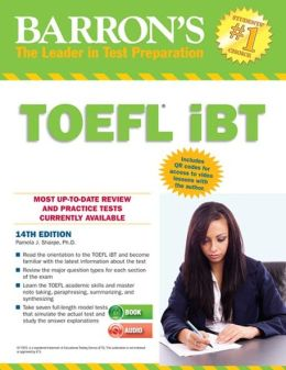 Barron's TOEFL iBT with Audio Compact Discs, 14th Edition