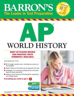 Barron's AP World History with CD-ROM, 6th Edition