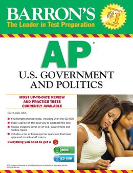 Barron's AP U.S. Government and Politics with CD-ROM, 8th Edition