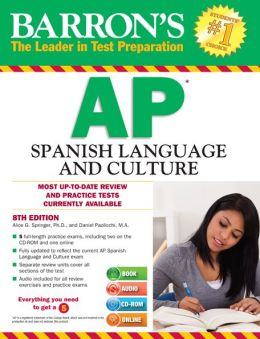 Barron's AP Spanish with MP3 CD and CD-ROM, 8th Edition