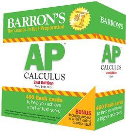 Barron's AP Calculus Flash Cards, 2nd Edition