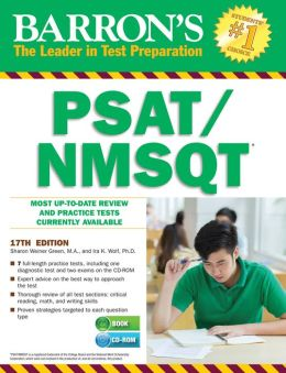 Barron's PSAT/NMSQT with CD-ROM, 17th Edition