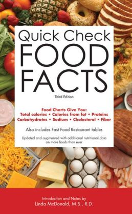 Quick Check Food Facts, 3rd edition