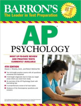 Barron's AP Psychology, 5th Edition