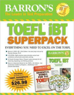 Barron's TOEFL iBT Superpack