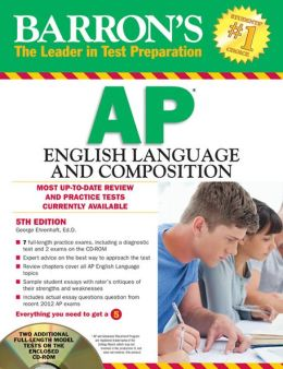 Barron's AP English Language and Composition with CD-ROM, 5th Edition