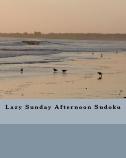 Lazy Sunday Afternoon Sudoku: Fun Sudoku Puzzles to Enjoy and Solve