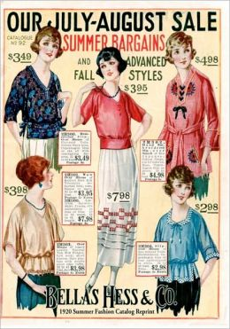 Bellas Hess and Co 1920 Summer Fashion Catalog Reprint