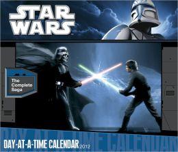 2012 Star Wars: The Saga Box Calendar