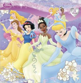 2012 Disney Princess Lenticular Wall Calendar