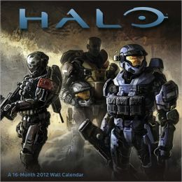 2012 Halo Wall Calendar