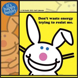 2012 It's Happy Bunny Wall Calendar