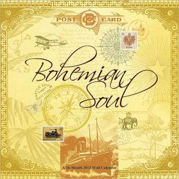 2012 Bohemian Soul - Kathy Davis Legacy Art Linen Wall Calendar