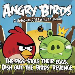 2012 Angry Birds Wall Calendar