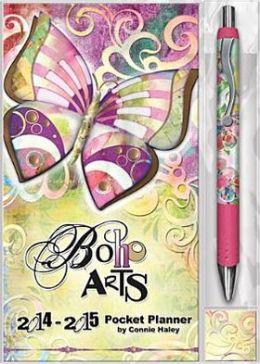 2014 Boho Arts Connie Haley Pocket Planner w/Pen