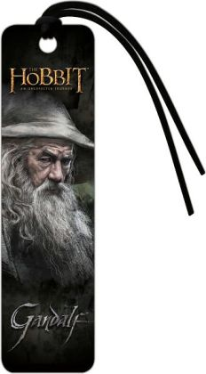 The Hobbit Gandalf Paper Bookmark