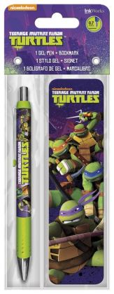 Teenage Mutant Ninja Turtles Gel Pen & Bookmark