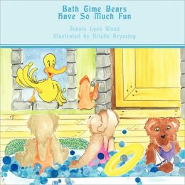Bath Time Bears Have So Much Fun
