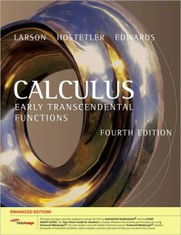 Calculus: Early Transcendental Functions, Enhanced Edition (with Enhanced WebAssign 1-Semester Printed Access Card)