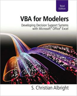 VBA for Modelers: Developing Decision Support Systems with Microsoft Office Excel (with Premium Online Content Printed Access Card)