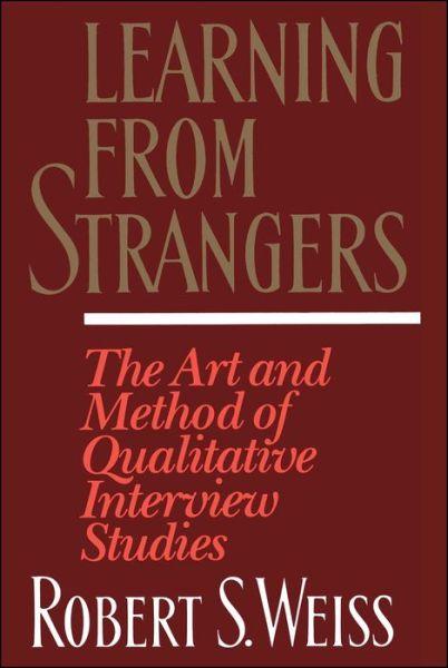 Ebook nederlands downloaden gratis Learning from Strangers: The Art and Method of Qualitative Interview Studies 9781439106983 English version