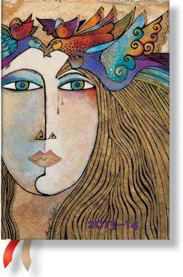 2014 Laurel Burch Soul & Tears Midi 18-Month Dayplanner (5
