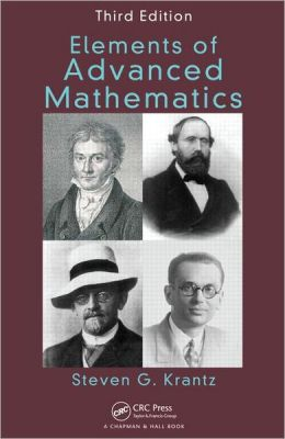 Elements of Advanced Mathematics, Third Edition
