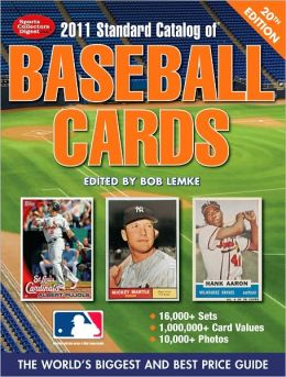 2011 Standard Catalog Of Baseball Cards