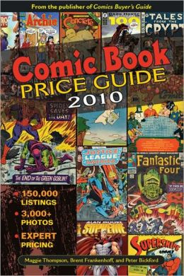 Comic Book Price Guide (PagePerfect NOOK Book)