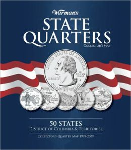 Warman's State Quarter Collector's Map