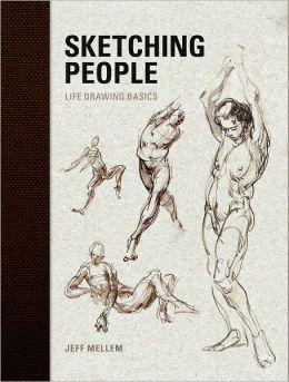 Sketching People: Life Drawing Basics (PagePerfect NOOK Book)