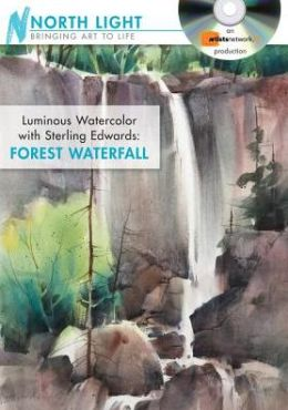 Luminous Watercolor with Sterling Edwards - Forest Waterfall