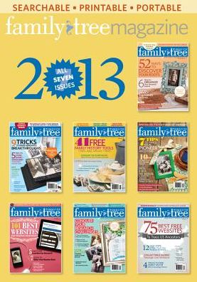 Family Tree Magazine 2013 Annual CD