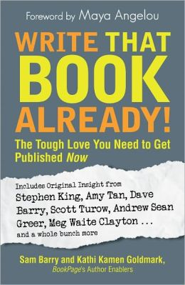 Write That Book Already!: The Tough Love You Need To Get Published Now (PagePerfect NOOK Book)