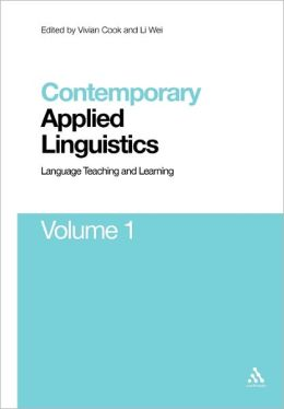 Contemporary Applied Linguistics Volume 1