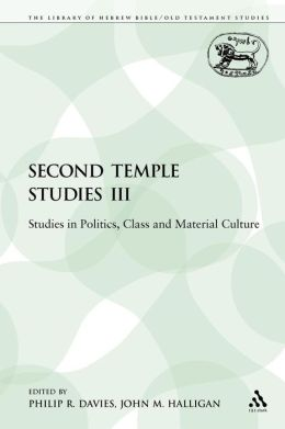Second Temple Studies Iii