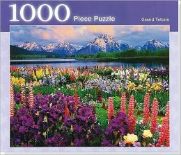 Grand Tetons 1000 Piece Jigsaw Puzzle