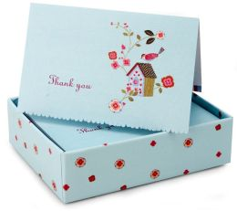 Birdhouse Thank You Notes Set Of 14
