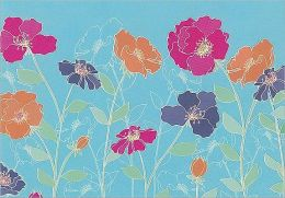 Poppies Note Card Set of 14