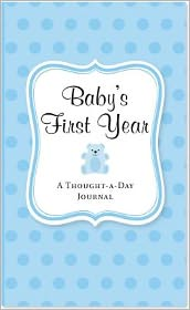 Blue Baby's First Year A Thought-a-Day Journal