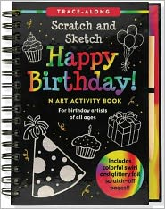 Happy Birthday! Scratch and Sketch TM TraceAlong